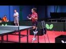 Уроки настольного тенниса. Урок 7