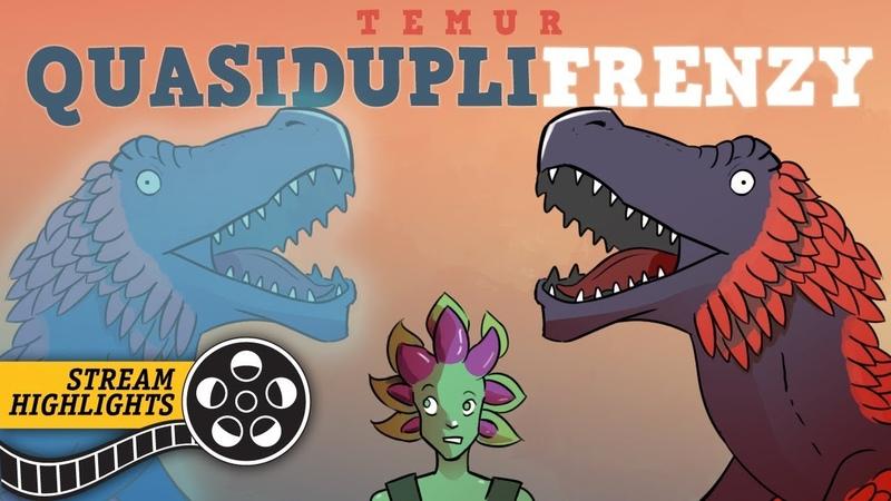 Attack of the Clones Temur QuasidupliFrenzy Standard Stream Highlights