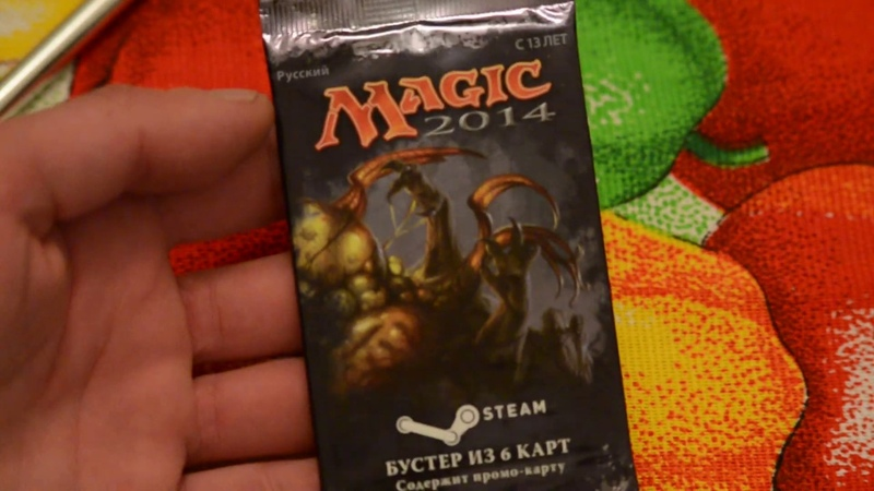 Opening Promo Booster Packs 2014 - Steam - Magic the Gathering.