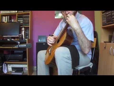 Heitor Villa-Lobos - Choro No.1 For Guitar. Enrique Bocaccio Guitarra