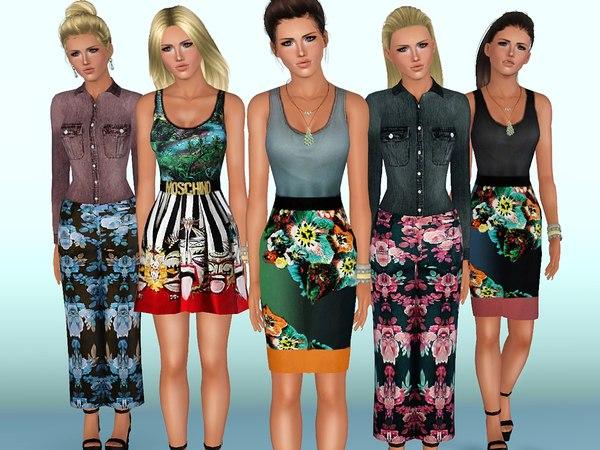 Женщины | Повседневная одежда. Наборы JuYV8xvF2OQ