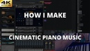 How I Make Cinematic Piano Music Live Orchestral Composing Tutorial with Olexandr Ignatov