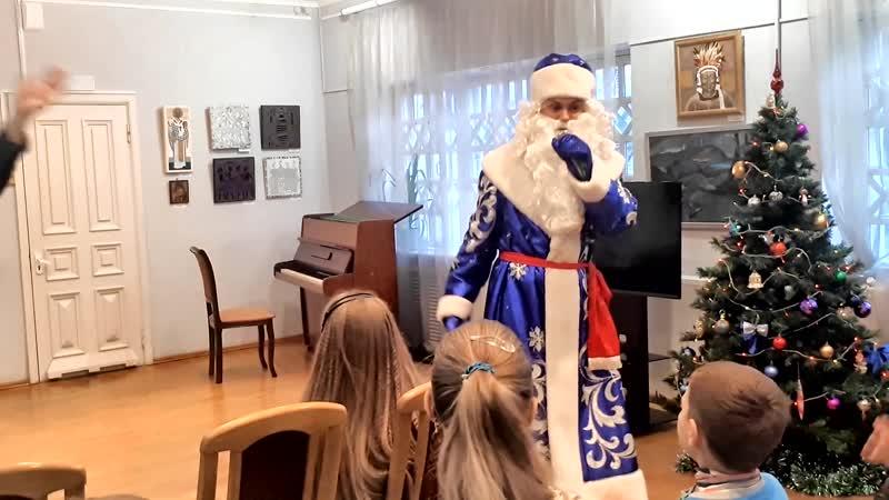 Дед Мороз Туки туки домик Алябьева 2018 Пятигорск