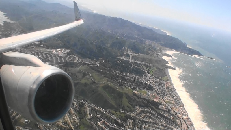 Picture Perfect HD 757 Takeoff From San Francisco California