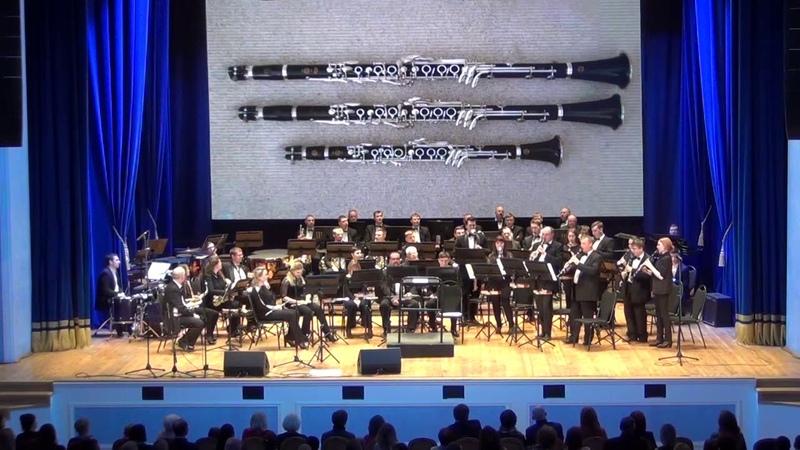 Александр Гилев Ragtime концертная пьеса для ансамбля кларнетов