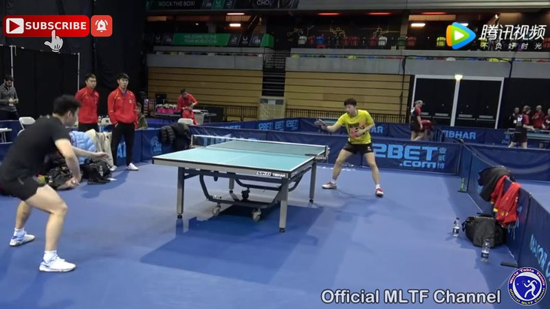 FAN Zhendong and MA Long Training - HD720p