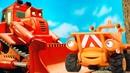 Мультфильм про строительные машинки. Руководящий голос на Стройке!