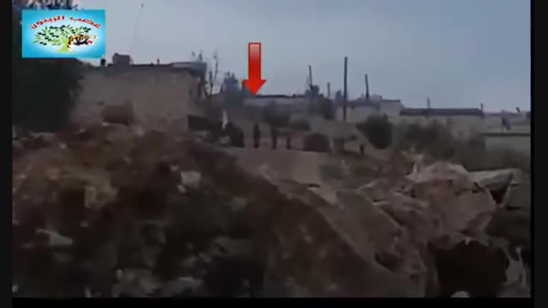 Взрыв машины с боевиками ССА в р. Ширава Африн.