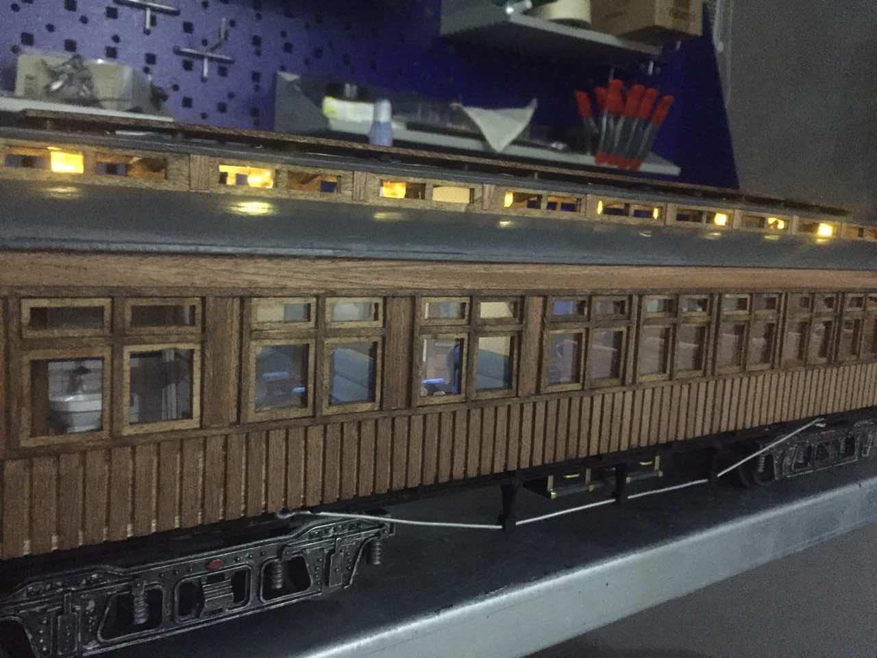 Модель вагона Costa Coach Масштаб 1:32 OcCre (качество фото не очень) CsnFfnFm9VI