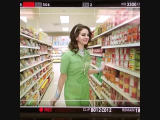 """at the supermarket with lana """