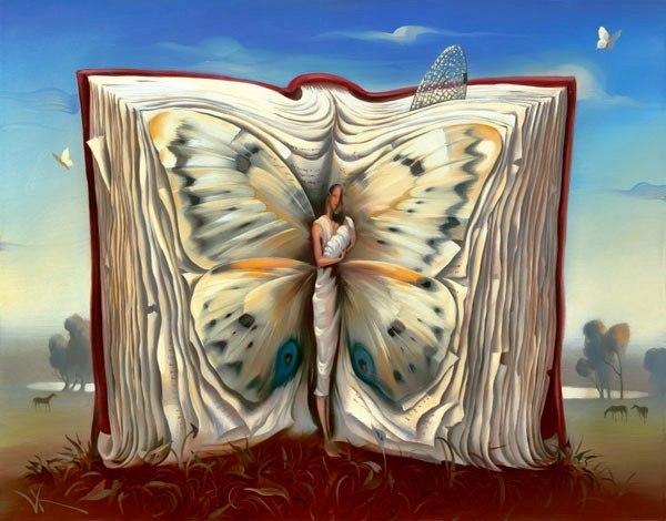 Человек сделан из книг, которые он читает.