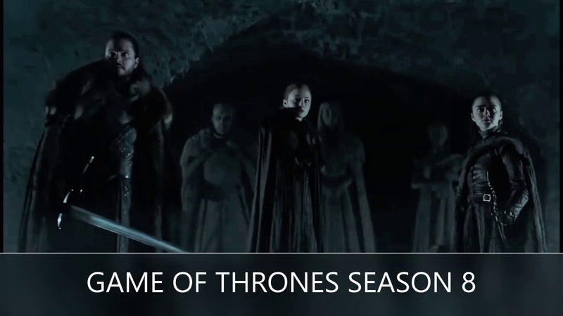 GAME OF THRONES SEASON 8 / Crypts of Winterfell / Teaser /РАЗБОР