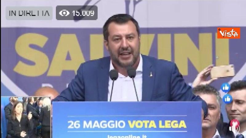 Salvini in Piazza Duomo: 11 leader europei a Milano, prima erano gli italiani ad andare all'estero