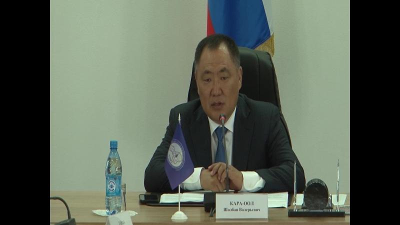 Заседание АСМО_рейтинг муниципалитетов Тувы