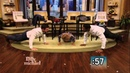Push Up Competition Between Stephen Amell and Kelly and Michael