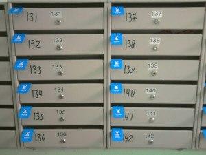 Листовки по ящикам