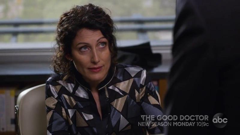 The Good Doctor 2x01 Lisa Edelstein First Scene