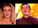 GOLDEN BUZZER Magician STUNS The Judges And Brings Them To TEARS Britain's Got Talent 2018