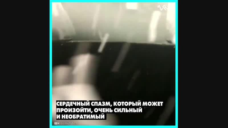 Наталья Авсеенко плавает подо льдом совершенно обнаженная
