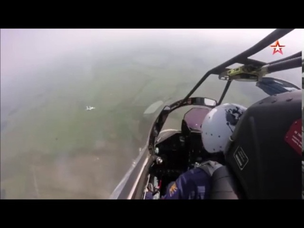 Russian Su-35 FLANKER-E air to ground firing drill in bad weather condition 18.07.17