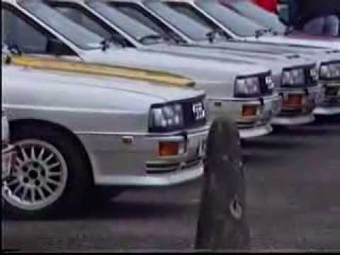 Quattro owners club meeting at David Suttons 1994