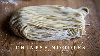 生麺ならではの食感とコシ!自家製中華麺の作り方:How to make Chinese Noodles Veggie Dishes by Peaceful Cuisine