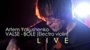 Artem Yakushenko Valse Bole soundscaping Electro violine live video