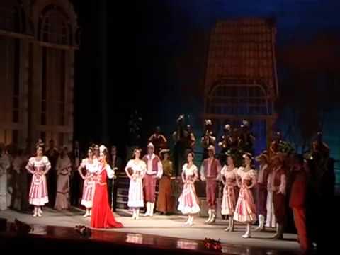 И.Кальман, ария Марицы из оперетты Марица, поёт Светлана Дюдина