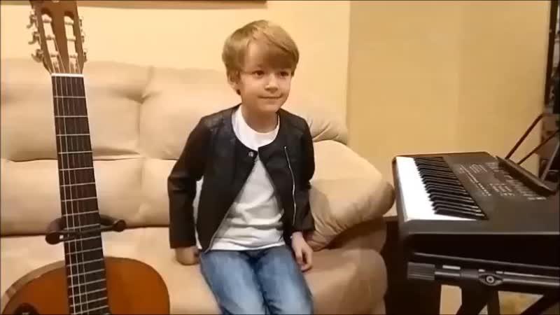 Леонид Зорин 6 лет г. Владимир Ценитель и исполнитель песен В. Цоя