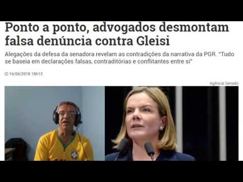 Entendam a farsa contra Gleisi Hoffmann e porque a mesma não deve ser condenada!
