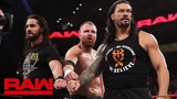 Roman Reigns, Seth Rollins and Dean Ambrose reunite as The Shield Raw, March 4, 2019