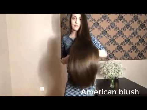 The Most Beautiful Extremely Long Hair Girls 2018