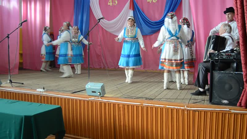 45 лет Большеляждурскому СДК