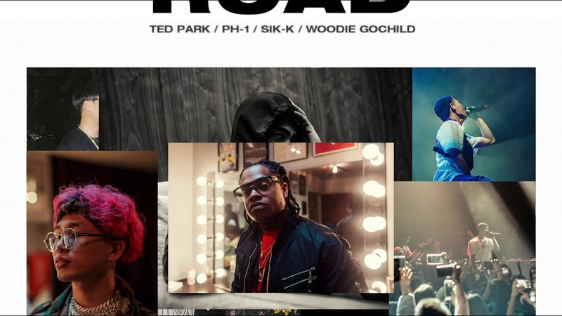 ON THE ROAD (Prod. BIG BANANA) - Ted Park, pH-1, Sik-K, Woodie Gochild [Official Audio]