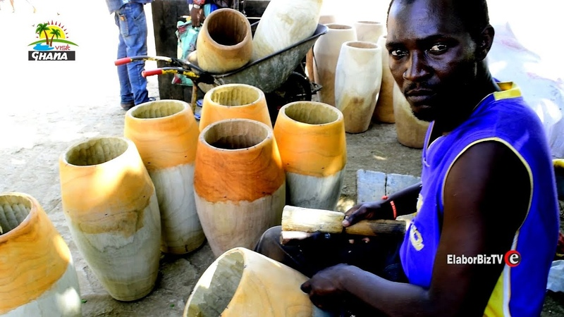A visit to African drum makers of Accra Ghana