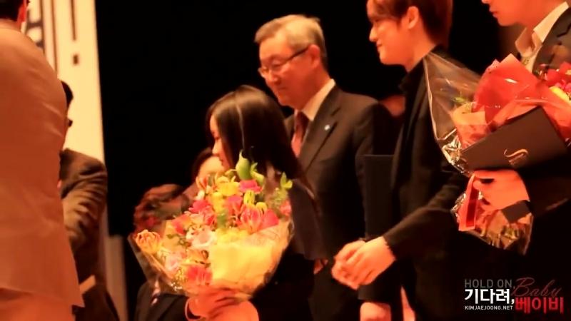 [JAEJOONG][기다려베이비] 20120202 서울 핵안보정상회의 홍보대사 위촉식