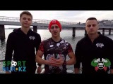 Street Workout Bulgaria support The First Kazakhstan`s championship [22/12/13]