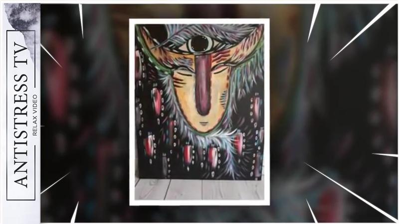 МегаСлон ⭐ Мощная Мелодия и видео для Доброй Души Художника ⭐ Посмотри!