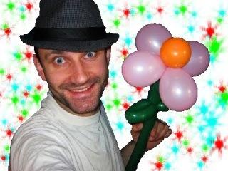 Цветок из шариков шдм и круглых аэродизайн ★ flower of balloons