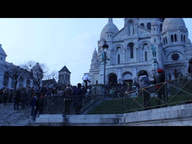 Футбольный виртуоз на монмарт - часть 1 (Париж)