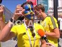 Желто красный город футбольные болельщики со всего мира в Нижнем Новгороде