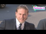Charlie Hunnam greets fans at Pacific Rim Premiere at Dolby Theatre in Hollywood
