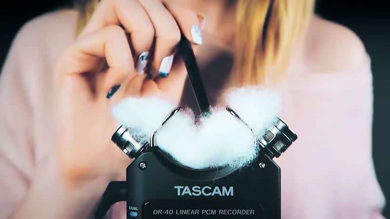 ASMR UNIQUE TASCAM TRIGGERS for intense tingles relaxation and sleep no talking