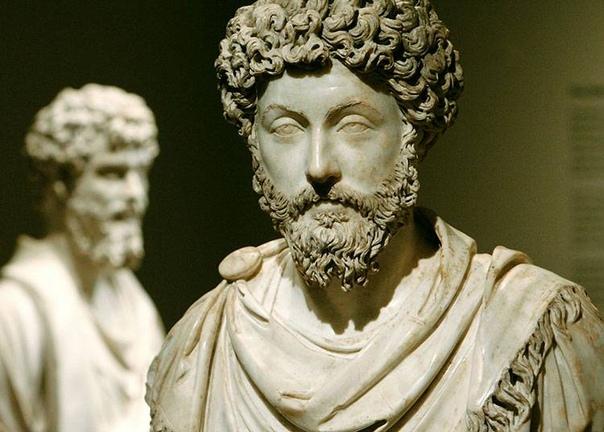 МАРК АВРЕЛИЙ  философ и римскийо император.