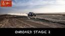 ONBOARD STAGE 2 | Benediktas Vanagas | Dakar 2019