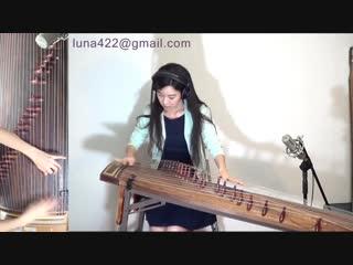 """Песня """"californication"""" на традиционном корейском инструменте """"каягым"""""""