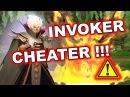Dota 2 Cheater - INVOKER using AUTO Sun Strike FULL SPELL COMBOS!
