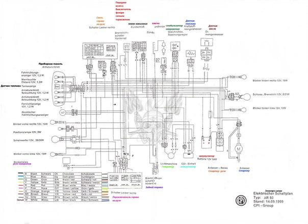 Электро схема CPI