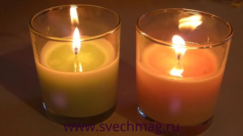 Мастер класс: ароматические свечи с эфирными маслами. Свечи своими руками.