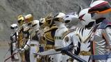 Batalla contra los sextos rangers | Kaizoku Sentai Gokaiger sub español